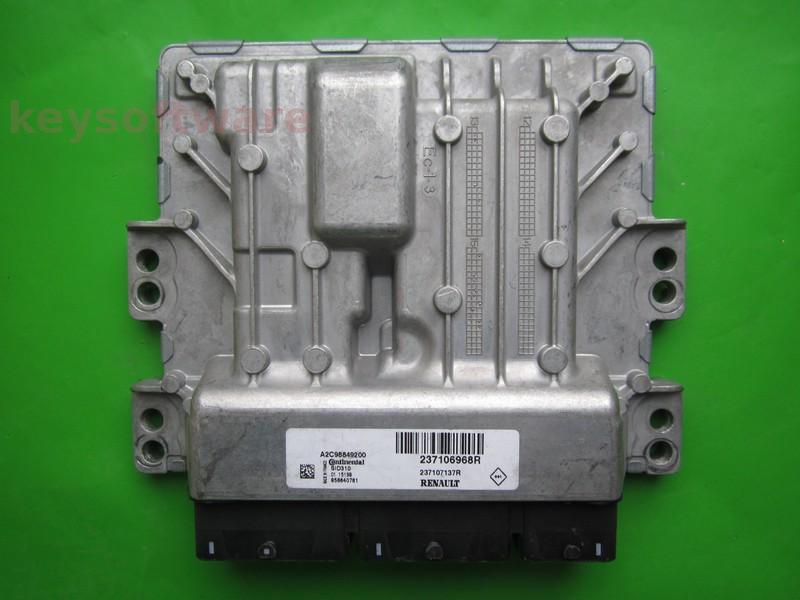 ECU Dacia Duster 1.5DCI 237106968R 237107137R SID310