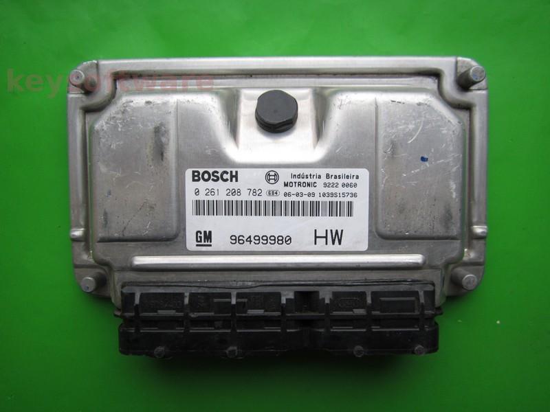 ECU Chevrolet Captiva 2.4 96499980 0261208782 ME7.9.9 136CP