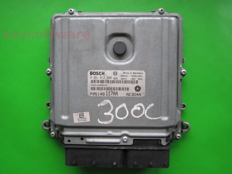 ECU Chrysler 300C 3.0CRD P05149117AA 0281013380 EDC16CP31 {