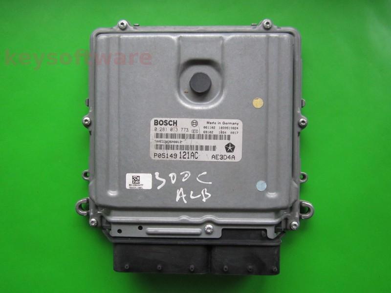 ECU Chrysler 300C 3.0CRD P05149121AC 0281013773 EDC16CP31