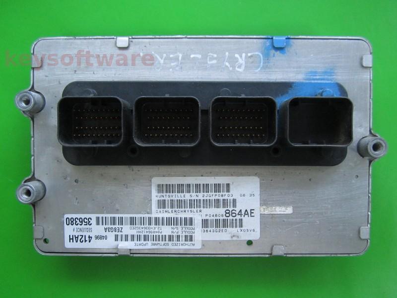 ECU Chrysler 300C 3.5 P04606864AE {