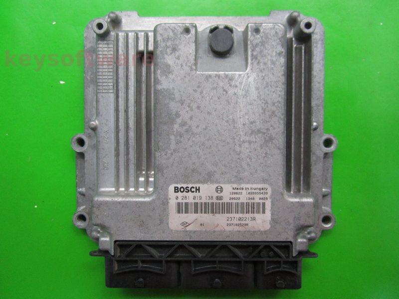 ECU Dacia Dokker 1.5DCI 237102529R 0281019138 EDC17C42 {