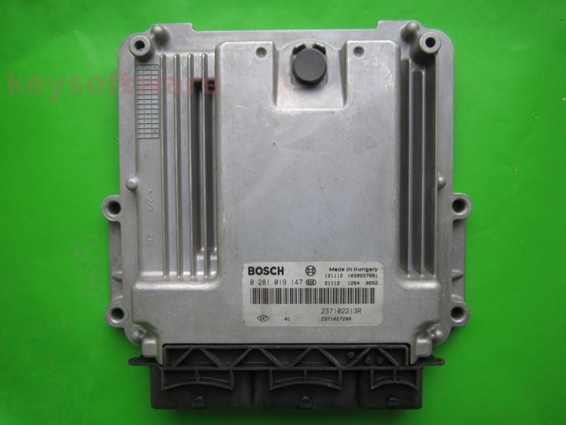 ECU Dacia Dokker 1.5DCI 237102720R 0281019147 EDC17C42