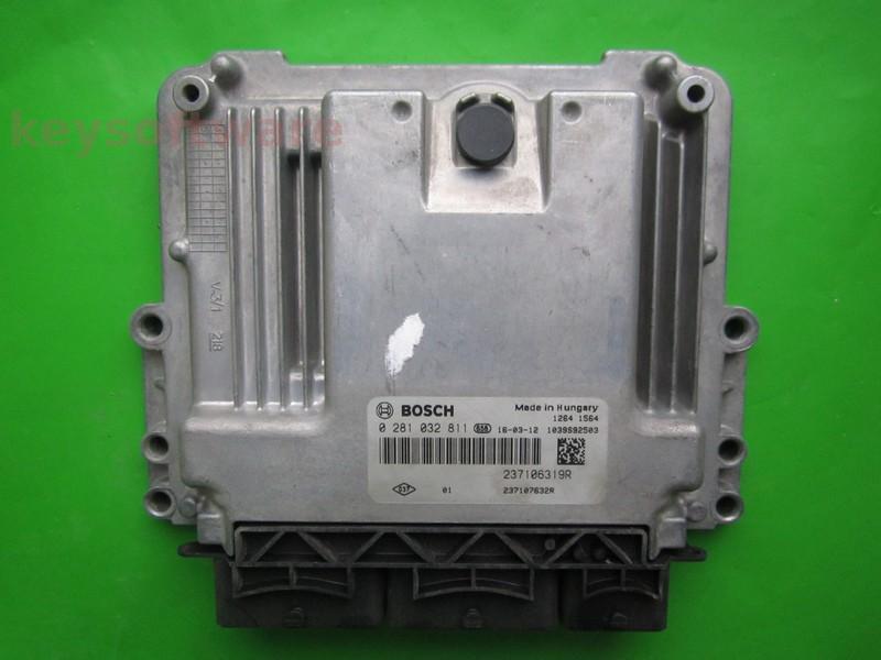 ECU Dacia Dokker 1.5DCI 237107632R 0281032811 EDC17C84 }