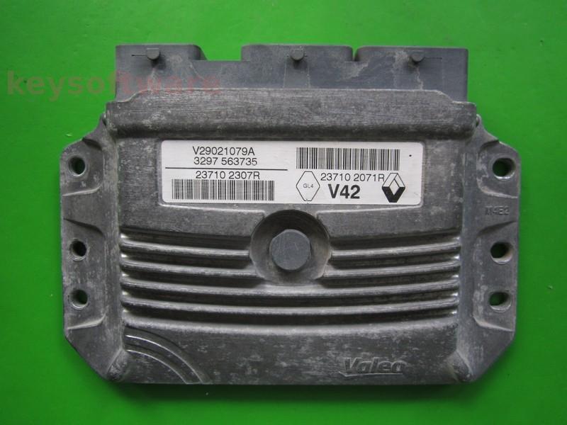 ECU Dacia Dokker 1.6 237102307R 237102071R V42
