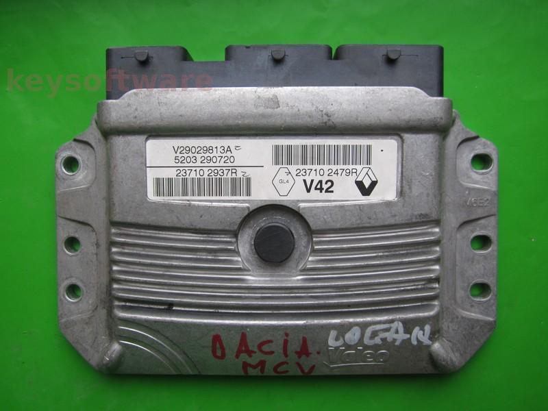 ECU Dacia Dokker 1.6 237102937R 237102479R V42 ^
