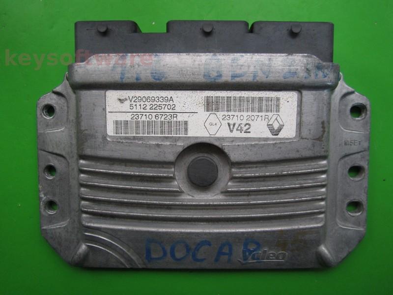 ECU Dacia Dokker 1.6 237106723R 237102071R V42