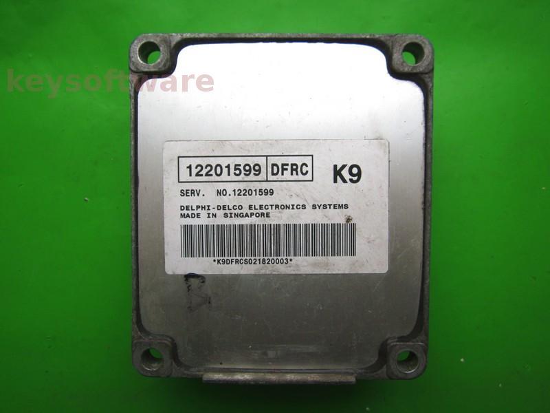 ECU Daewoo Lanos 1.4 12201599 DFRC K9 MR140