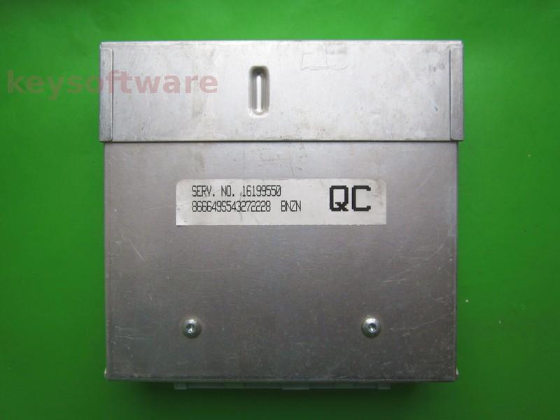 ECU Daewoo Espero 2.0 16199550 BNZN QC bleu