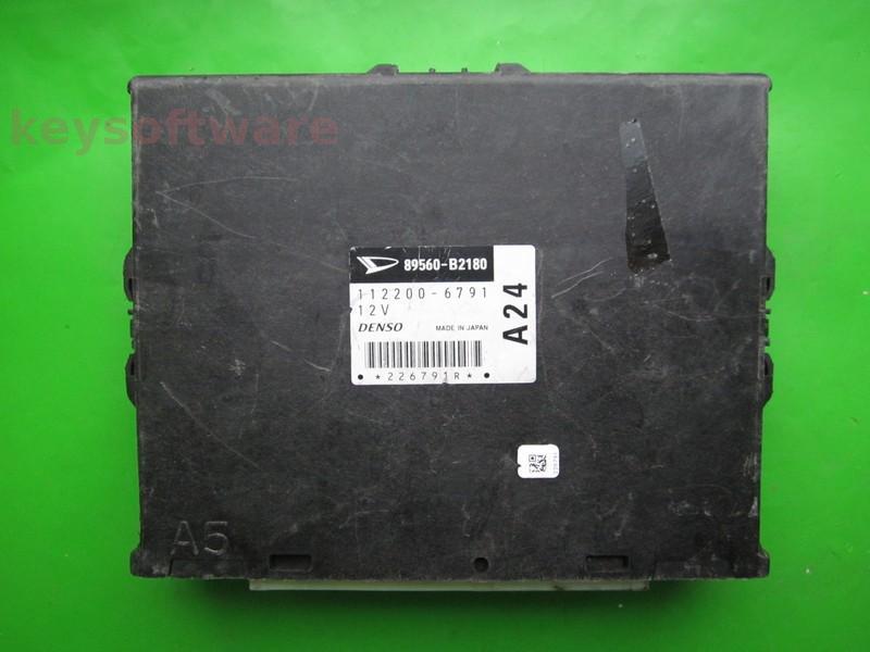 ECU Daihatsu Charade 1.0 89560-B2180 112200-6791