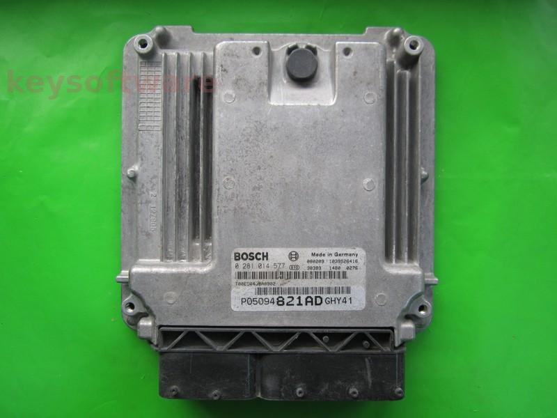 ECU Dodge Journey 2.0CRD P05094821AD 0281014577 EDC16U31
