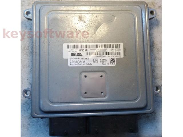 ECU Dodge Caliber 2.0 P68000127A1 788190 SIM90E {