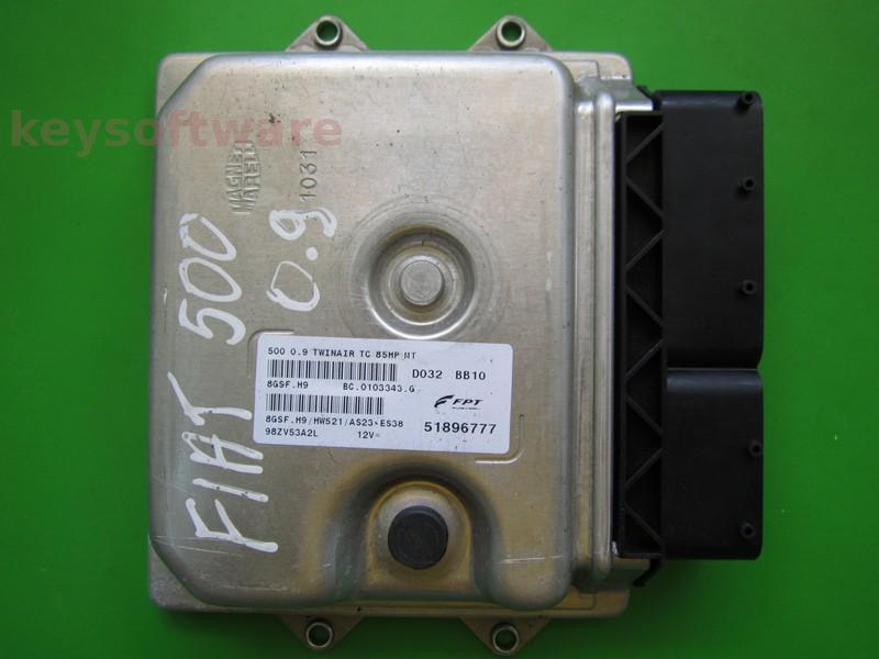 ECU Fiat 500 0.9 51896777 8GSF.H9