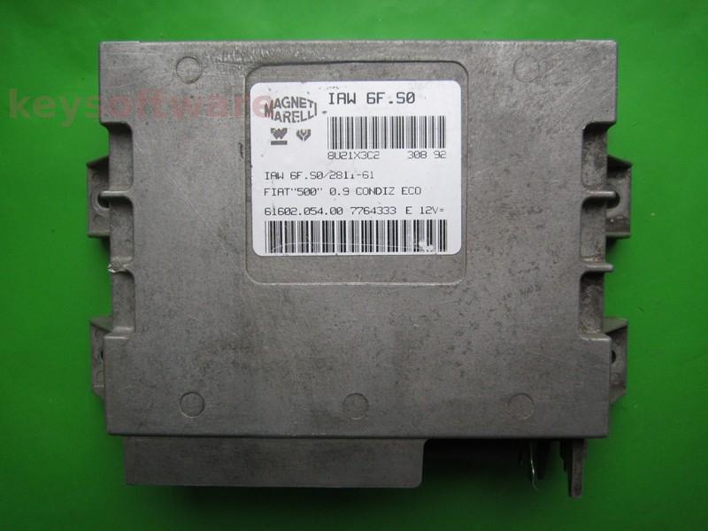 ECU Fiat 500 0.9 7764333 IAW 6F.S0
