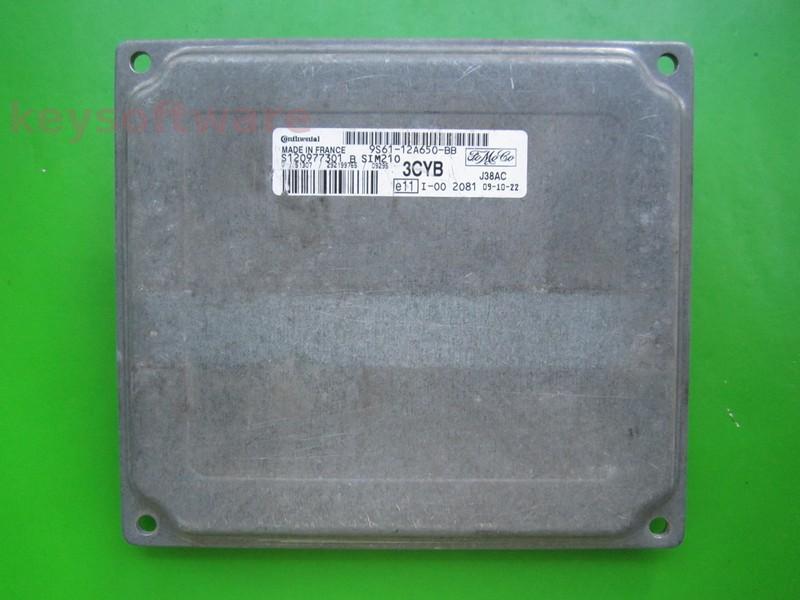 ECU Ford Fusion 1.4 9S61-12A650-BB SIM210