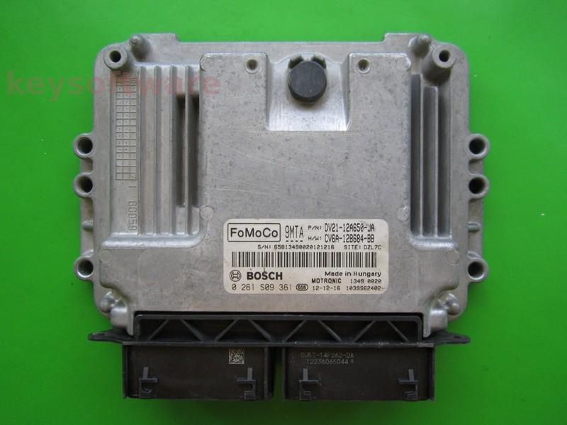 ECU Ford B-Max 1.0 DV21-12A650-JA 0261S09361 MED17.0.1