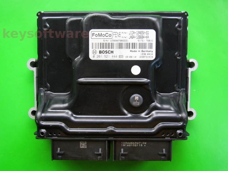 ECU Ford C-Max 1.0 J1DA-12A650-SG 0261S21444