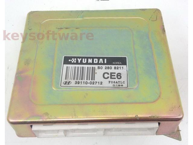 ECU Hyundai Atos 1.0 39110-02712 {