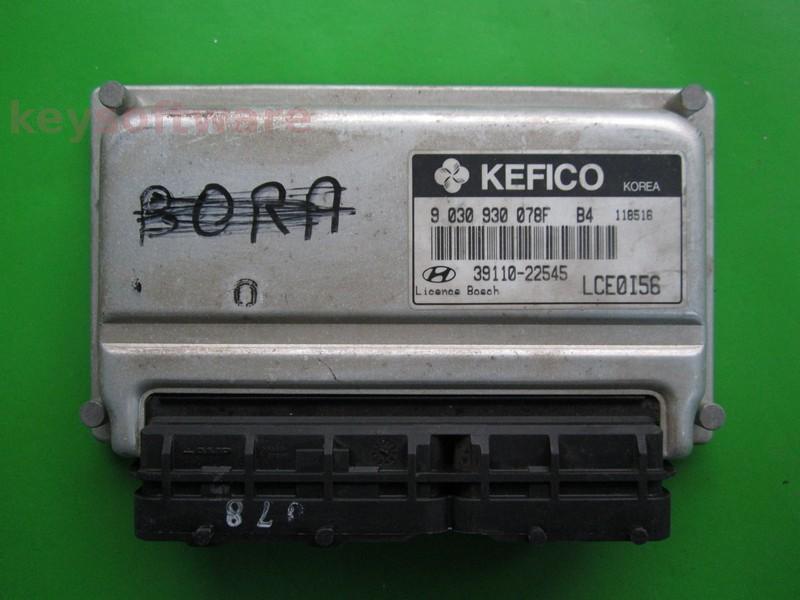 ECU Hyundai Accent 1.5 39110-22545 9030930078F