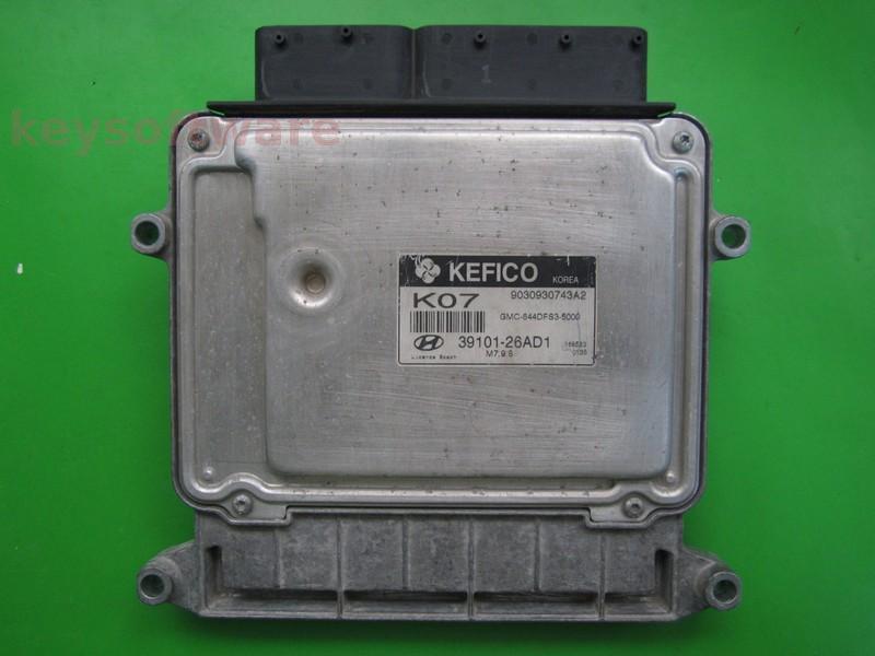 ECU Hyundai Accent 1.4 39101-26AD1 9030930743A2 M7.9.8