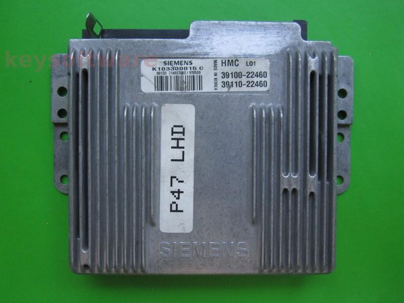 ECU Hyundai Accent 1.5 39100-22460 K103300015C