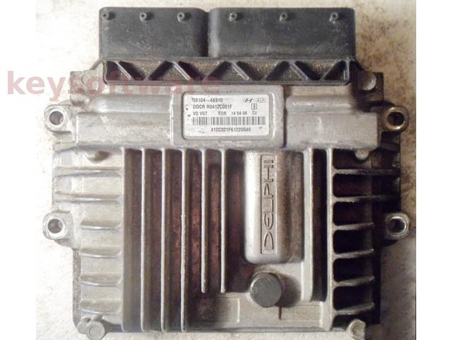 ECU Kia Carens 2.9CRDI 39104-4X910 R0412C001F DCM3.2AP