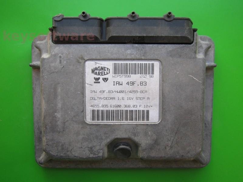 ECU Lancia Dedra 1.6 46551835 IAW 49F.B3