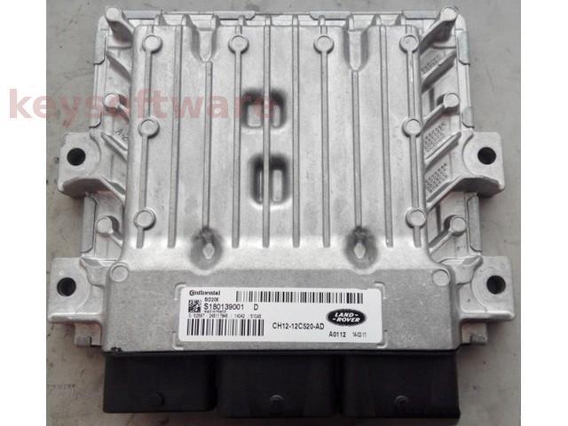 ECU Land Rover Defender 2.2TDCI CH12-12C520-AD SID208 {