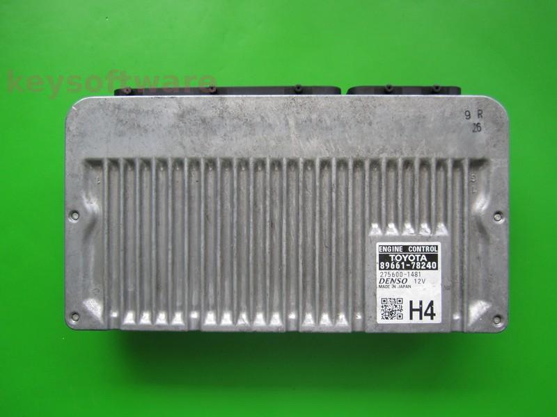 ECU Lexus NX300 89661-78240 275600-1481