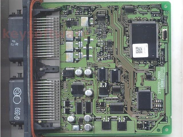 ECU Mazda 3 1.6 G-399 279721-3990 doar placa3