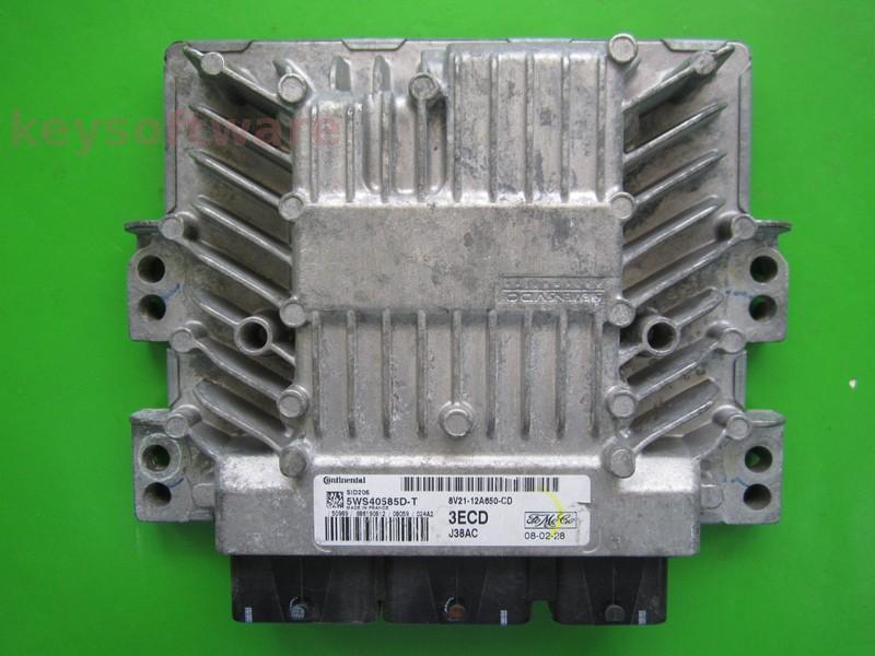 ECU Mazda 2 1.4TDCI 8V21-12A650-CD SID206