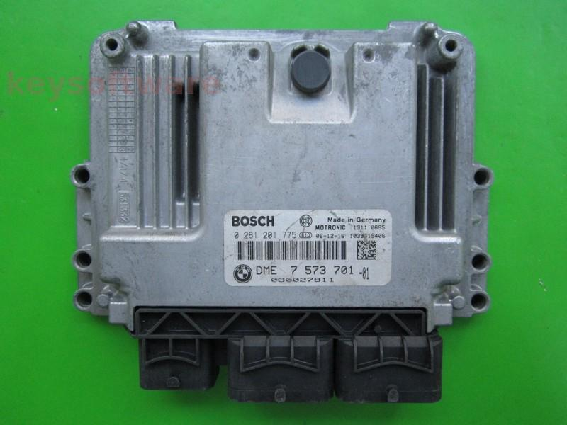 ECU Mini Cooper 1.6 DME7573701 0261201775 MEV17.2^