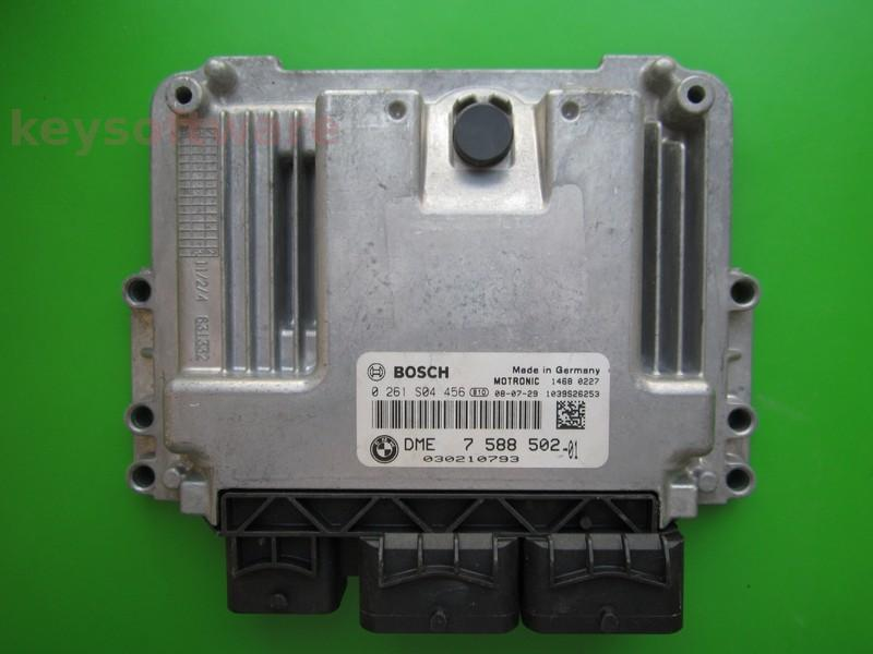 ECU Mini Cooper 1.6 DME7588502 0261S04456 MEV17.2 }