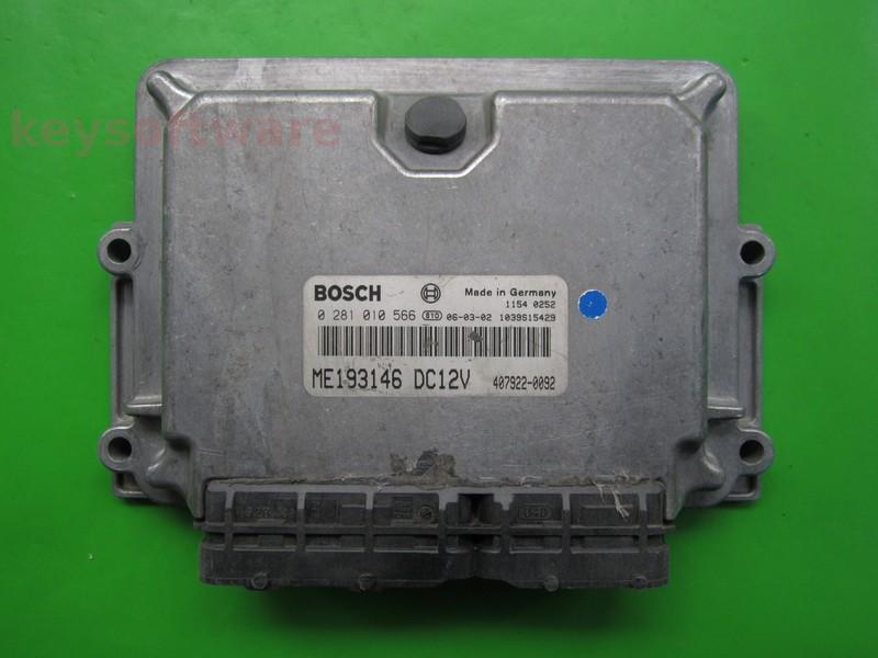 ECU Mitsubishi Canter 3.0TD ME193146 0281010566 EDC15M1
