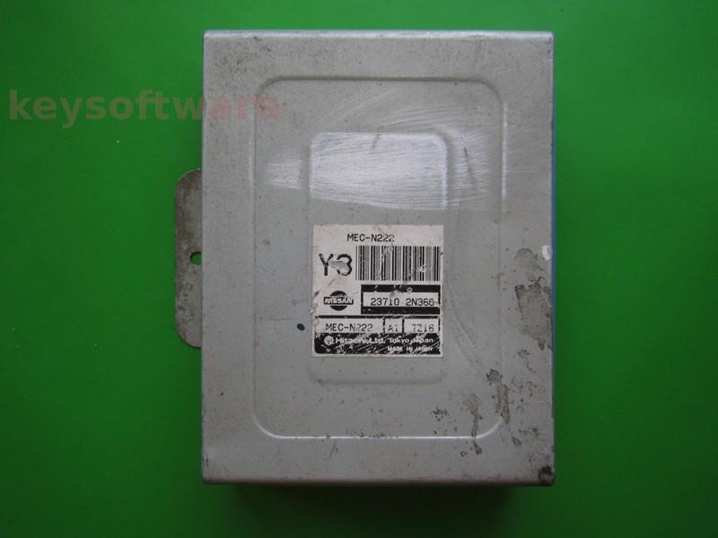 ECU Nissan Almera 1.4 23710 2N366 MEC-N222