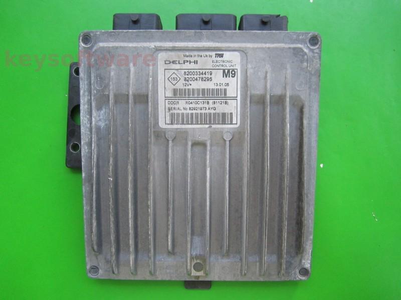ECU Nissan Micra 1.5DCI 8200478295 81121B DDCR