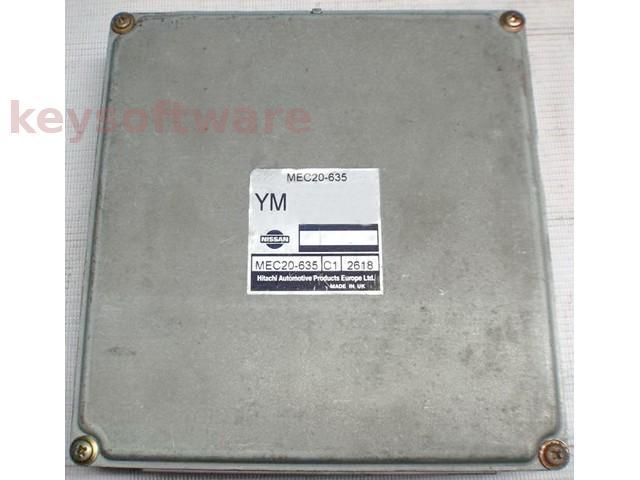 ECU Nissan Almera 1.8 MEC20-635 YM {