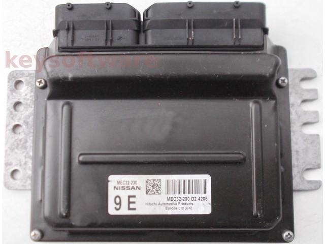 ECU Nissan Almera 1.8 MEC32-230 9E {