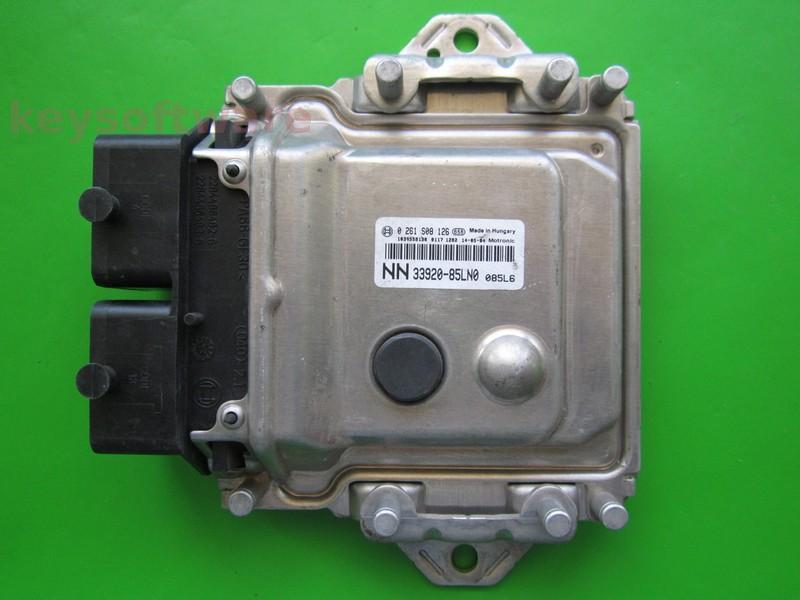 ECU Opel Agila 1.0 33920-85LN0 0261S08126 ME17-96
