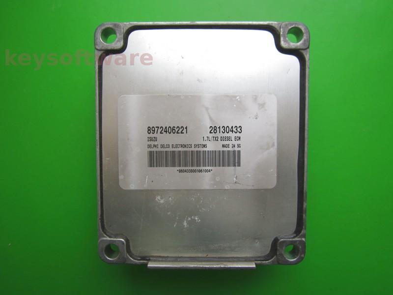 ECU Opel Combo 1.7DTI 28130433 Isuzu TX2 {