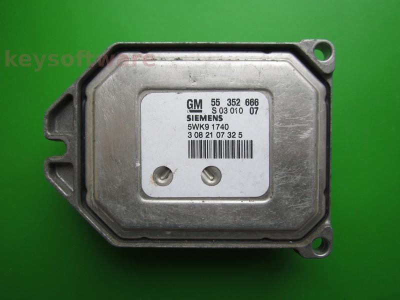 ECU Opel Vectra C 1.8 55352666 Z18XE Simtec 71.5 RESETAT }