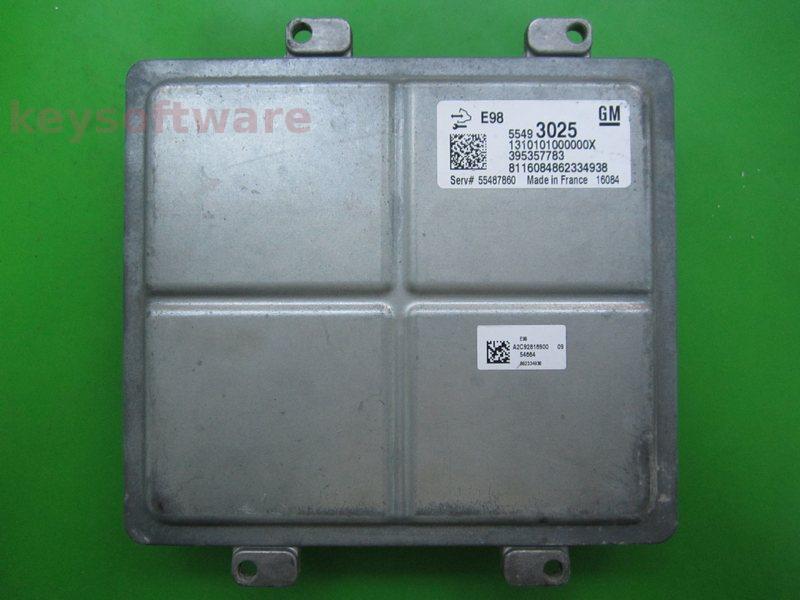 ECU Opel Astra K 1.6CDTI 55493025 ACDELCO E98 {