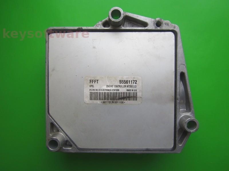 ECU Opel Astra H 1.6 55561172 FFFT Z16XEP MT35E 2.3