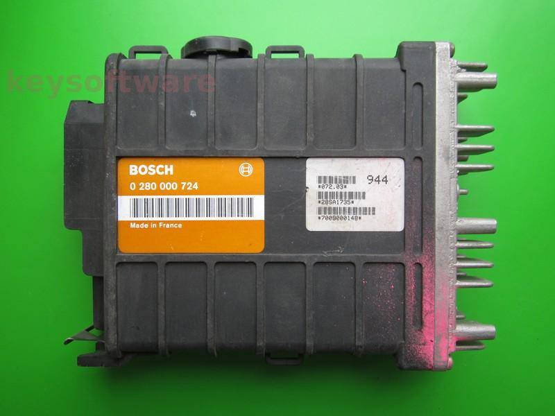 ECU Peugeot 106 1.1 0280000724 A2.2