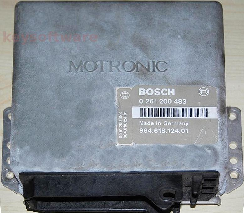 ECU Porsche Carerra 3.6 96461812401 0261200483 M2.1 {