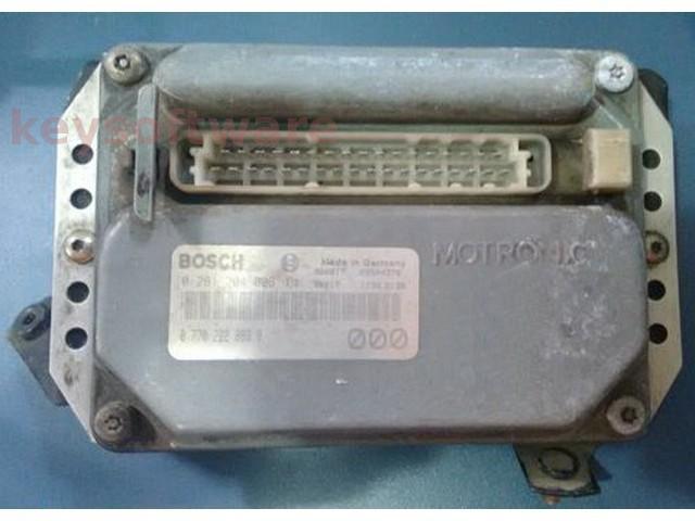 ECU Renault 19 1.6 770222083 0261204006 MA1.7 {