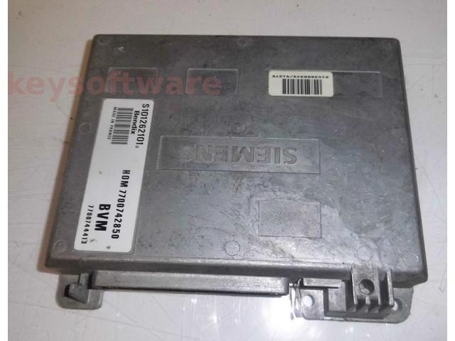 ECU Renault 19 1.8 HOM7700742850 S101262101D Bendix
