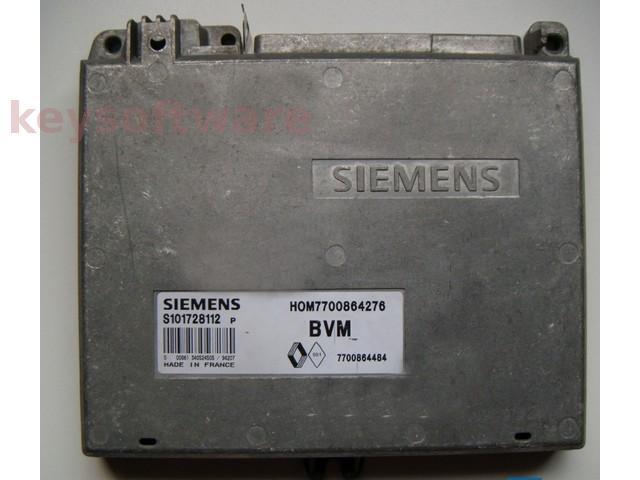 ECU Renault 19 1.8 HOM7700864276 S101728112P Fenix3B {