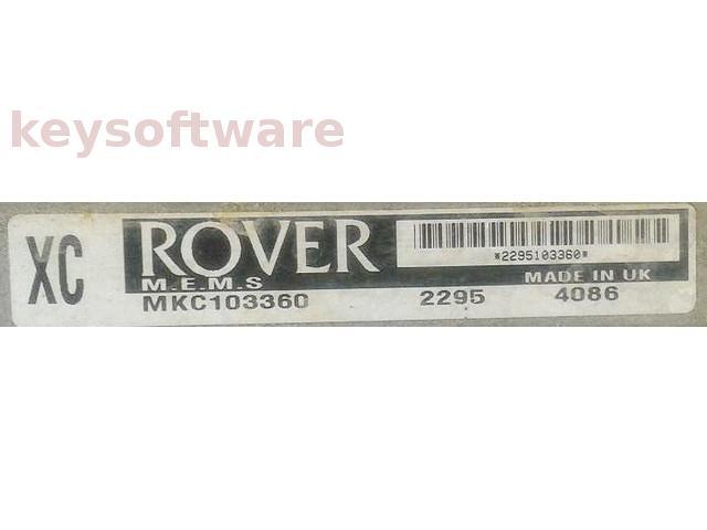 ECU Rover 200 1.4 MKC103360 XC {