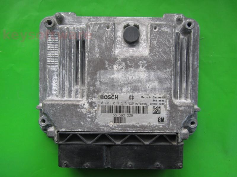 ECU Saab 9-3 1.9TID 55563326 0281013515 EDC16C9 {